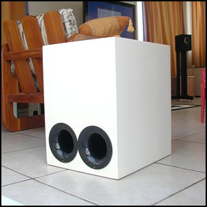 The Subwoofer DIY Page v1.1 - Projects : An INF10 Bandpass Subwoofer