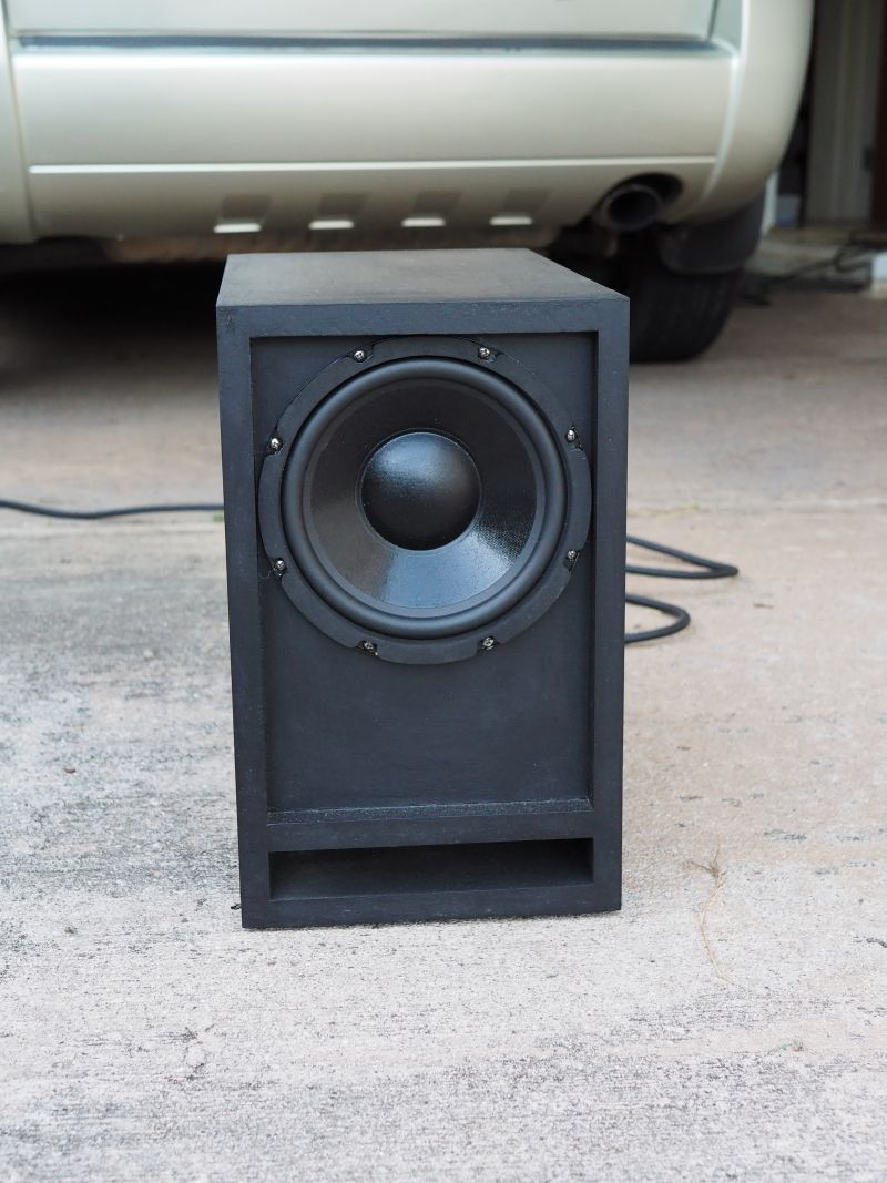 The Subwoofer DIY Page v1.1 - Projects : The Boom Unit