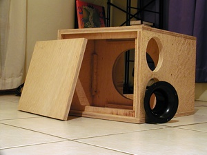 The Subwoofer DIY Page - Projects : An INF10 Bandpass Subwoofer